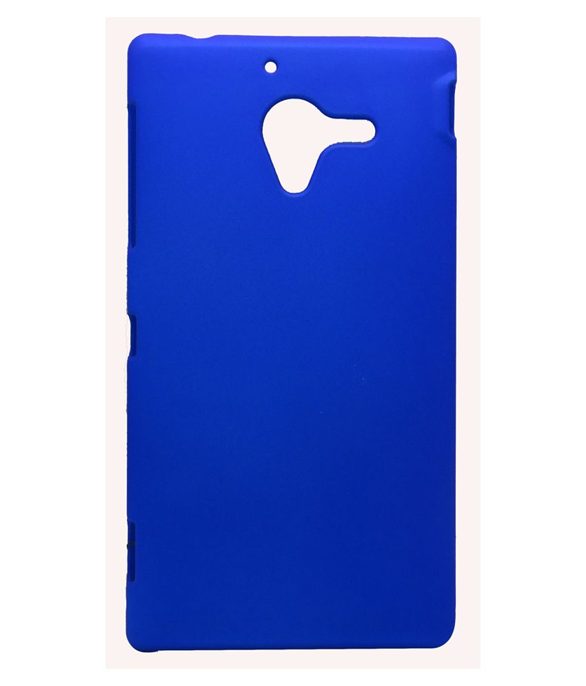 Snooky Back Cover Case For Sony Xperia Zl Blue