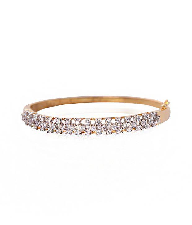 X Gold India Karishma Diamonds Bracelet