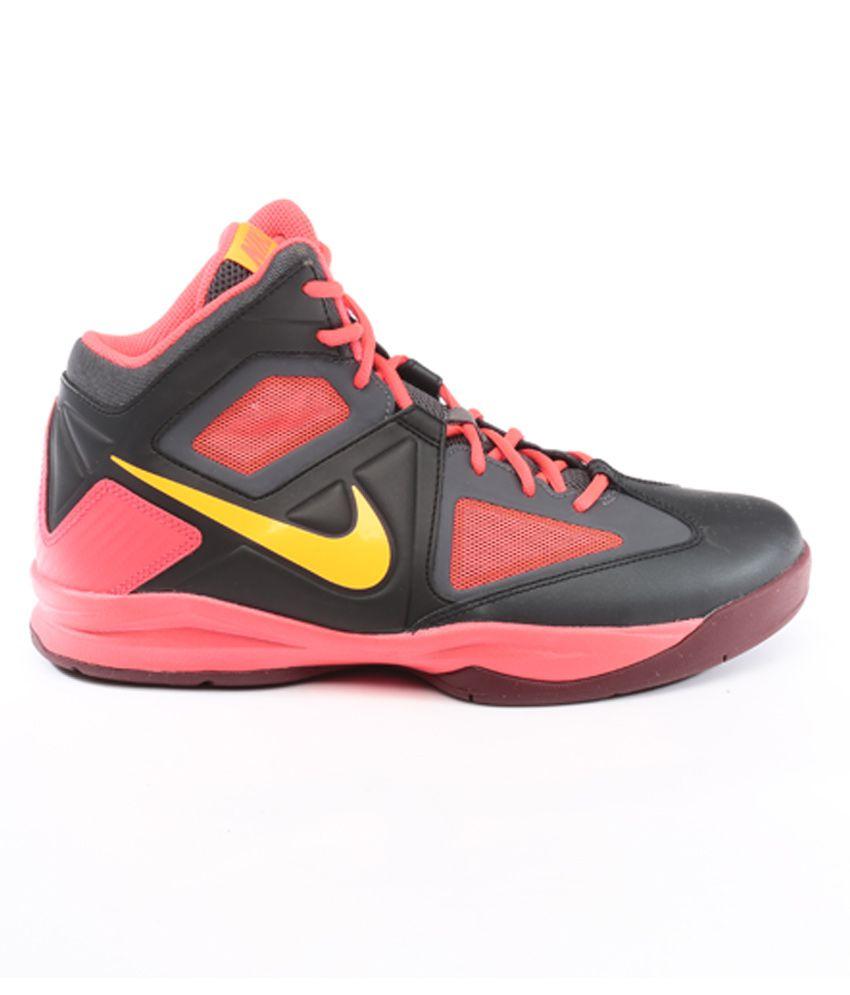 0879093e2570 NikeZoom Born Ready Black Basketball Shoes NikeZoom Born Ready Black  Basketball Shoes ...