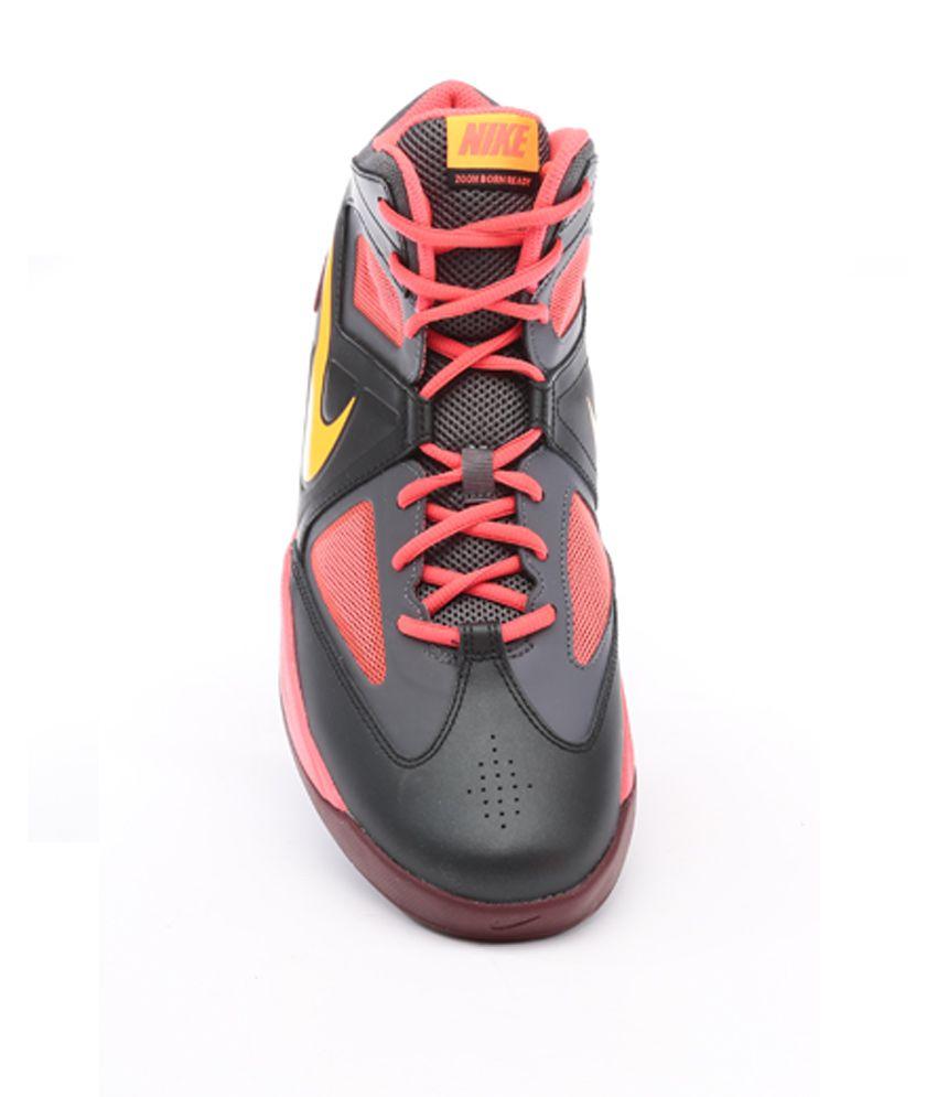 9a5901e9cad9 NikeZoom Born Ready Black Basketball Shoes - Buy NikeZoom Born Ready ...