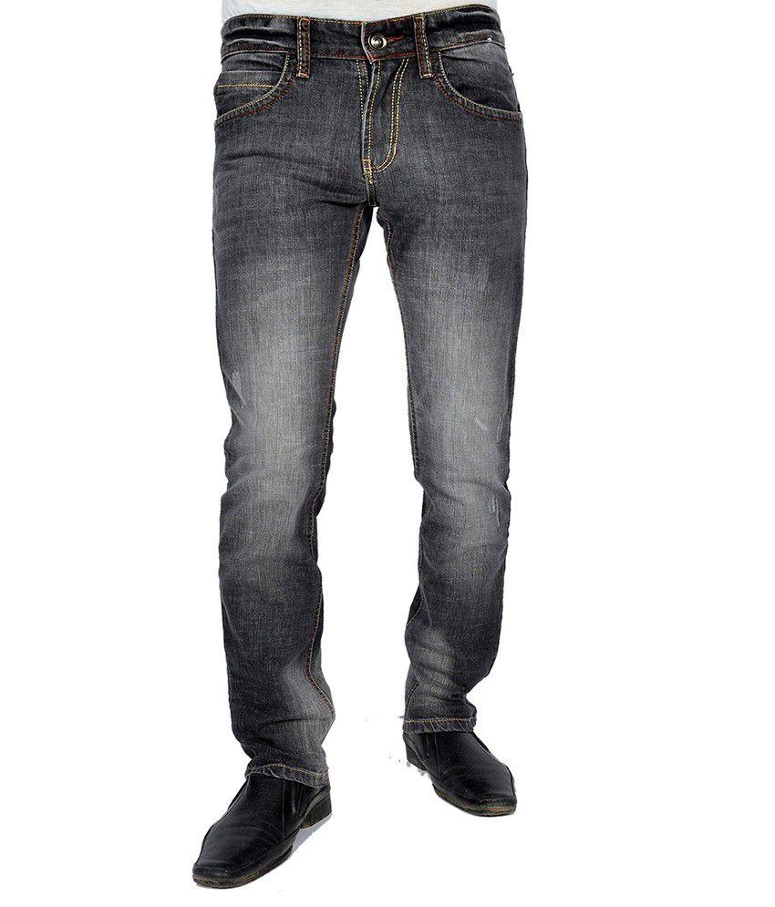 Uber Urban Black Slim Fit Jeans
