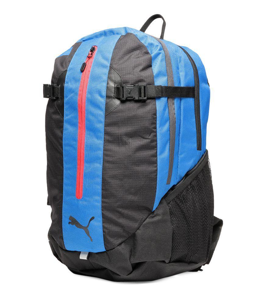 7649192cfef5 Puma Blue Apex Backpack - Buy Puma Blue Apex Backpack Online at Best ...