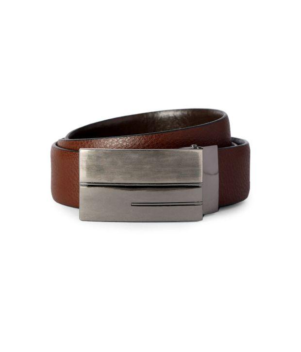 Van Heusen Brown Formal Single  Belt  ForMen