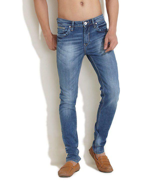 Indigo Nation Blue Slim Fit Jeans
