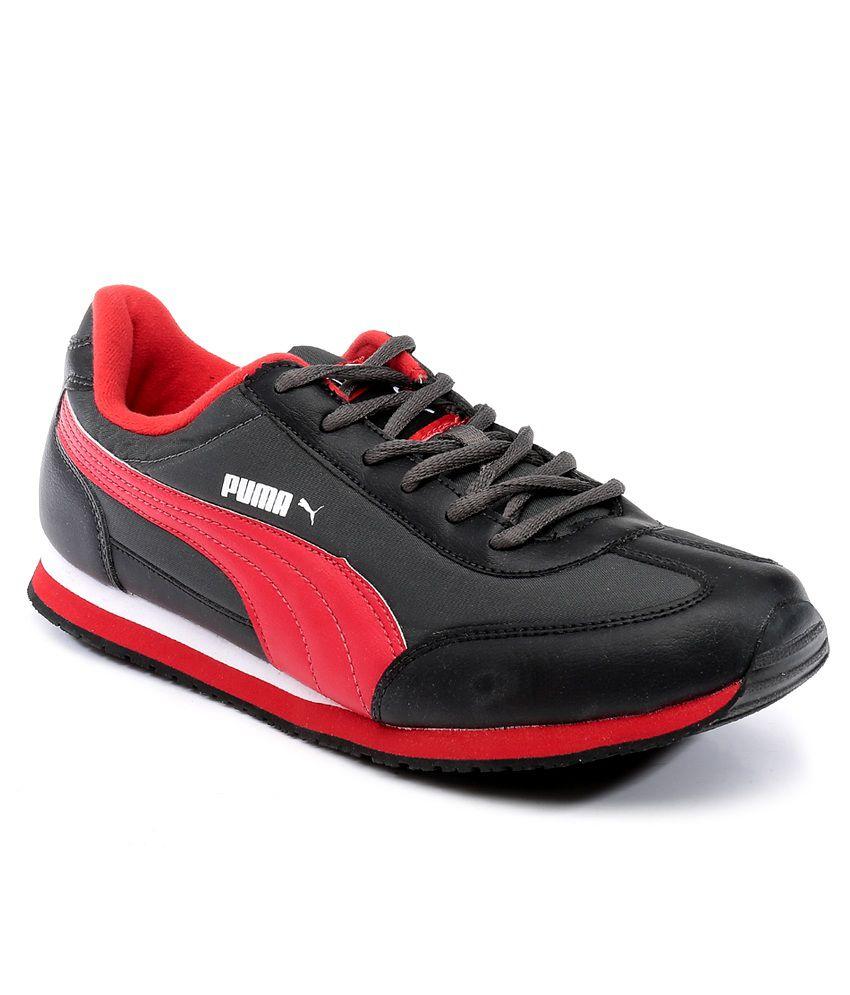 Puma Gray Smart Casuals Shoes
