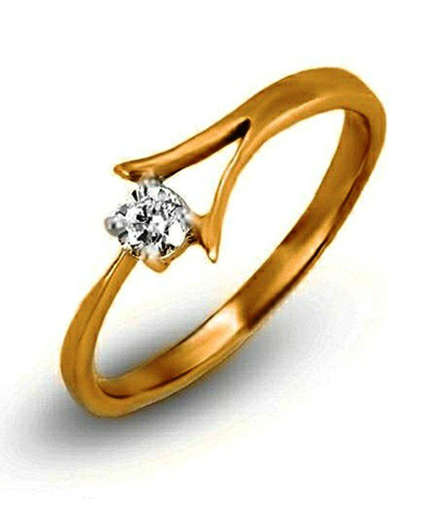 Shashvat Jewels 18Kt The Ino Solitaire Ring