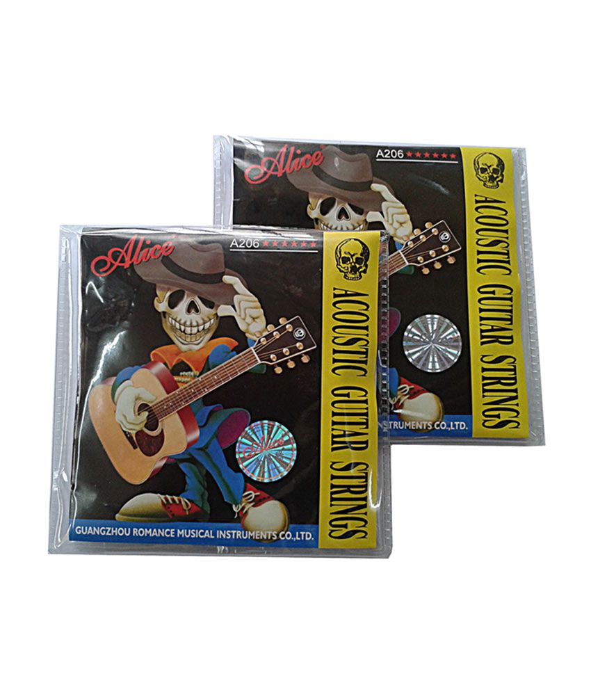 alice acoustic guitar strings 2 pieces buy alice acoustic guitar strings 2 pieces online at. Black Bedroom Furniture Sets. Home Design Ideas