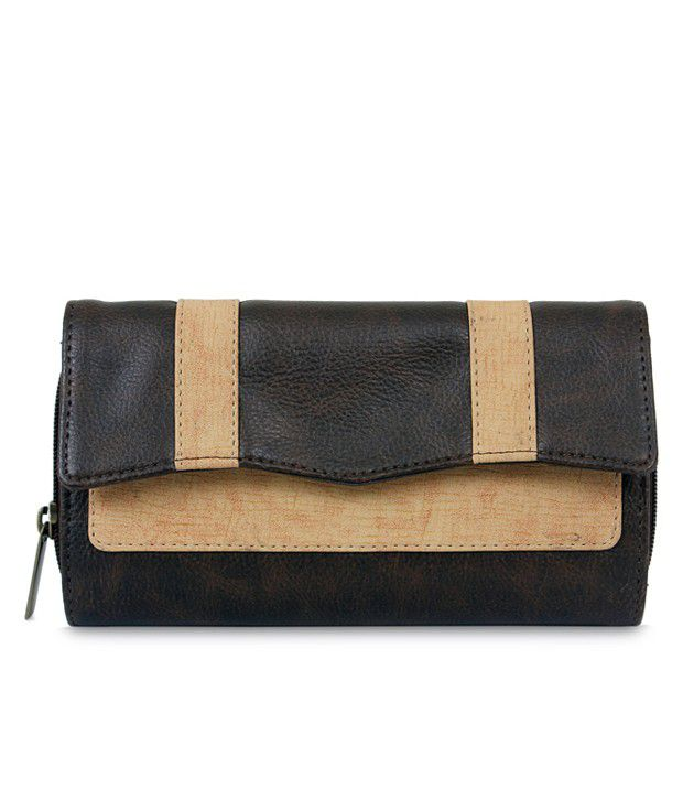 Baggit 2177920474179W MILLY DINGDONG BROWN Clutch