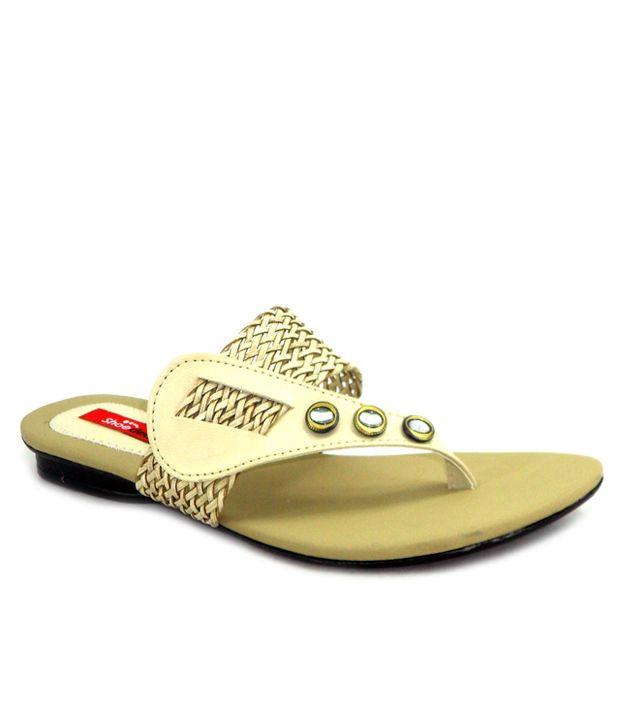 Shoedeal Green Flat