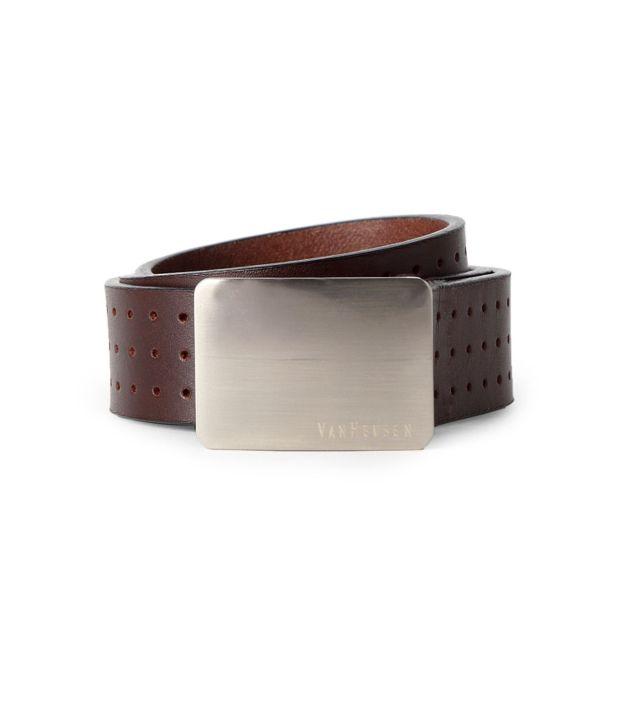 Van Heusen Brown Casual Belt ForMen