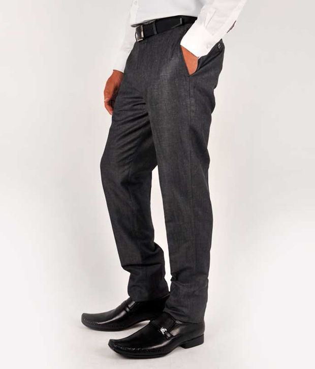Blackberrys Formal Trousers Gray Formal