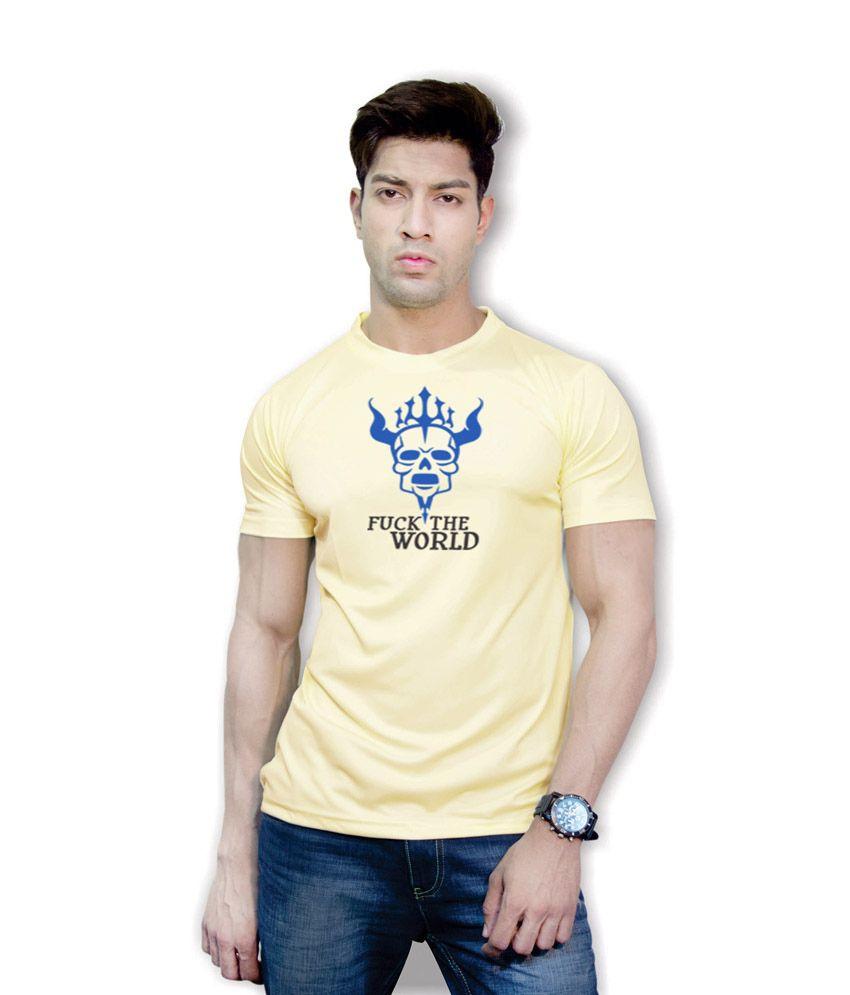 Effit World Buzz Yellow Dri-Fit T-Shirt