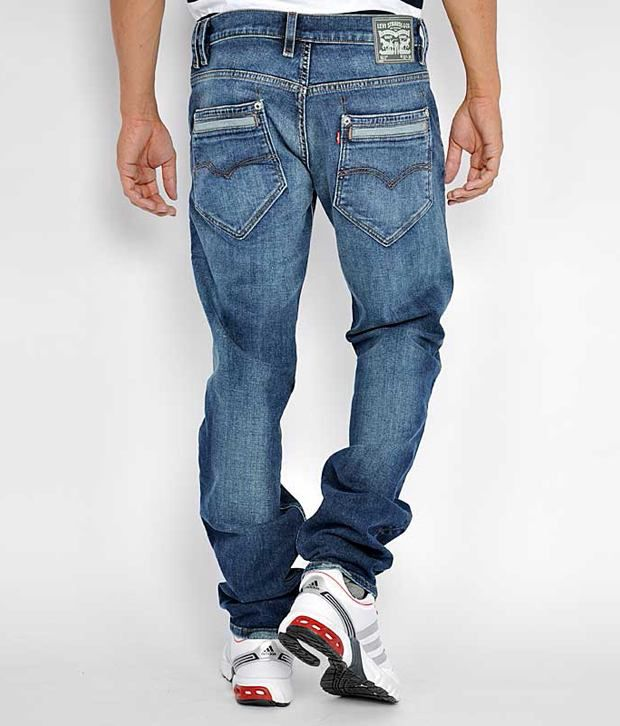 Levis Men Jeans With Lycra Denim Slim Fit - Buy Levis Men Jeans ...