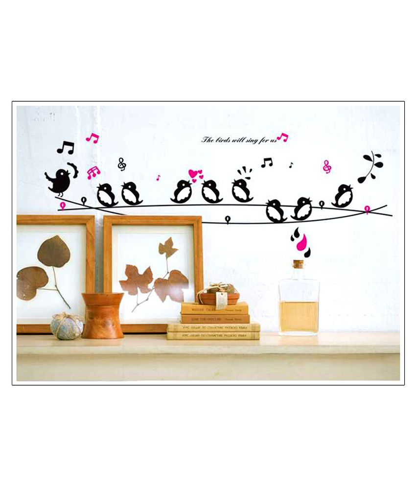 SYGA Printed PVC Vinyl Multicolour Wall Stickers - Buy SYGA Printed PVC Vinyl Multicolour Wall ...