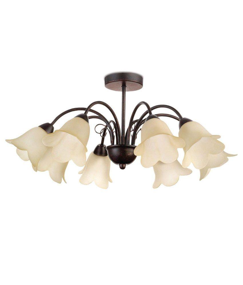 Ceiling Lamp Installation Cost: Philips Aluminium 36998 Ceiling Light: Buy Philips