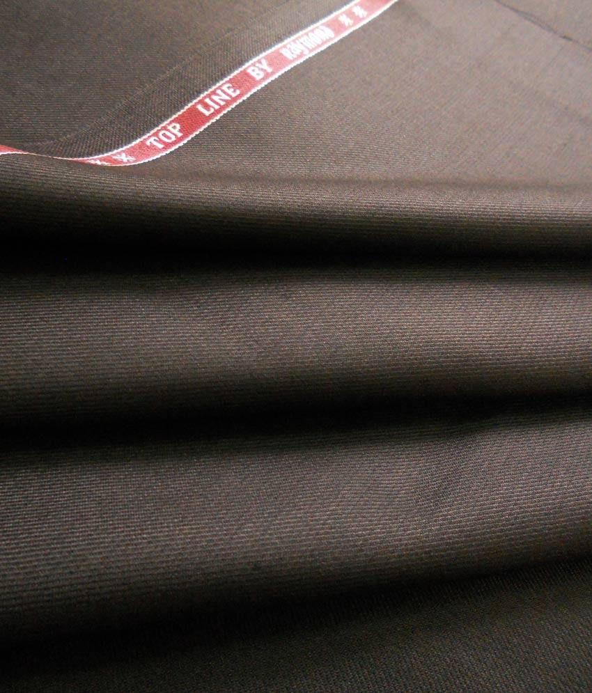 Raymond Chocolate Brown Trouser Fabric Buy Raymond