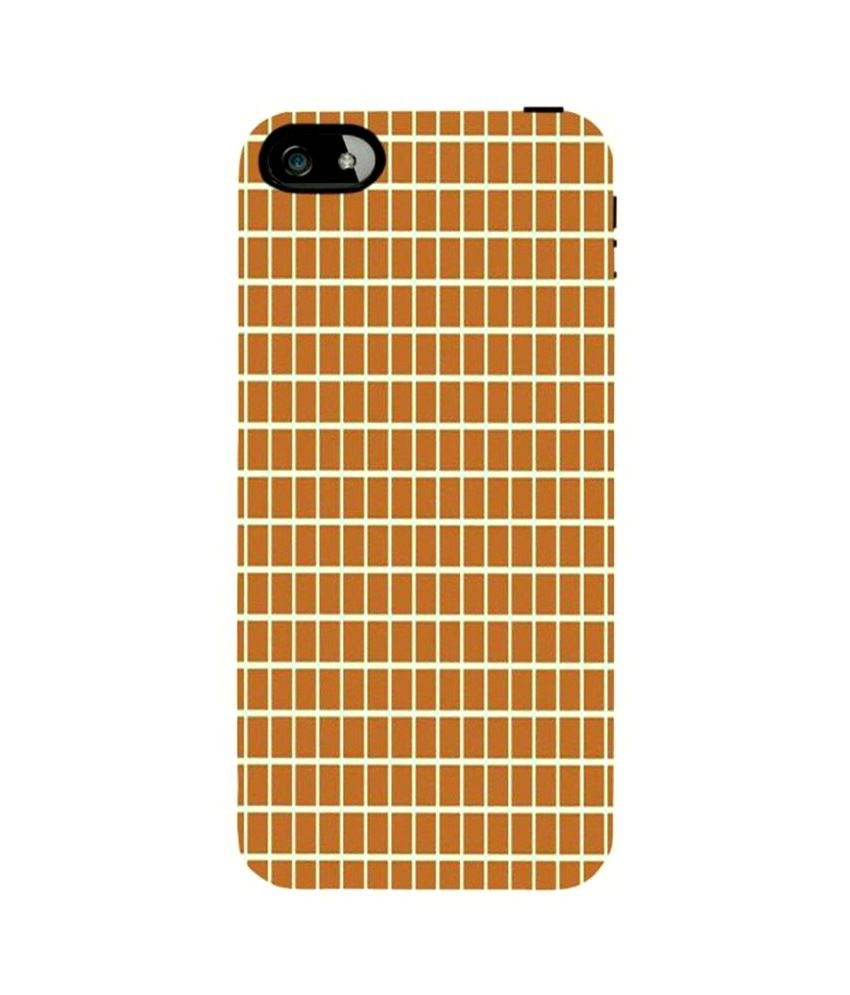 apple iphone support snoogg chequered pattern design 1733 for apple iphone 5c 1733