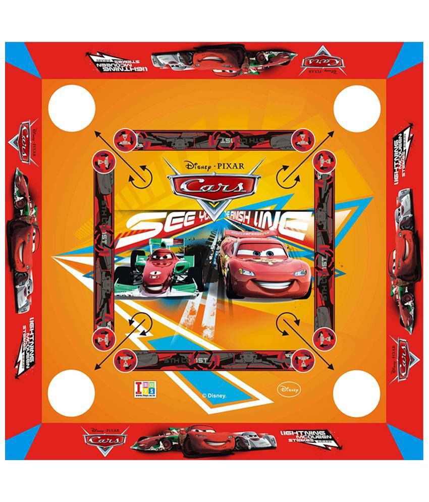 Disney Cars Carrom Board - Small