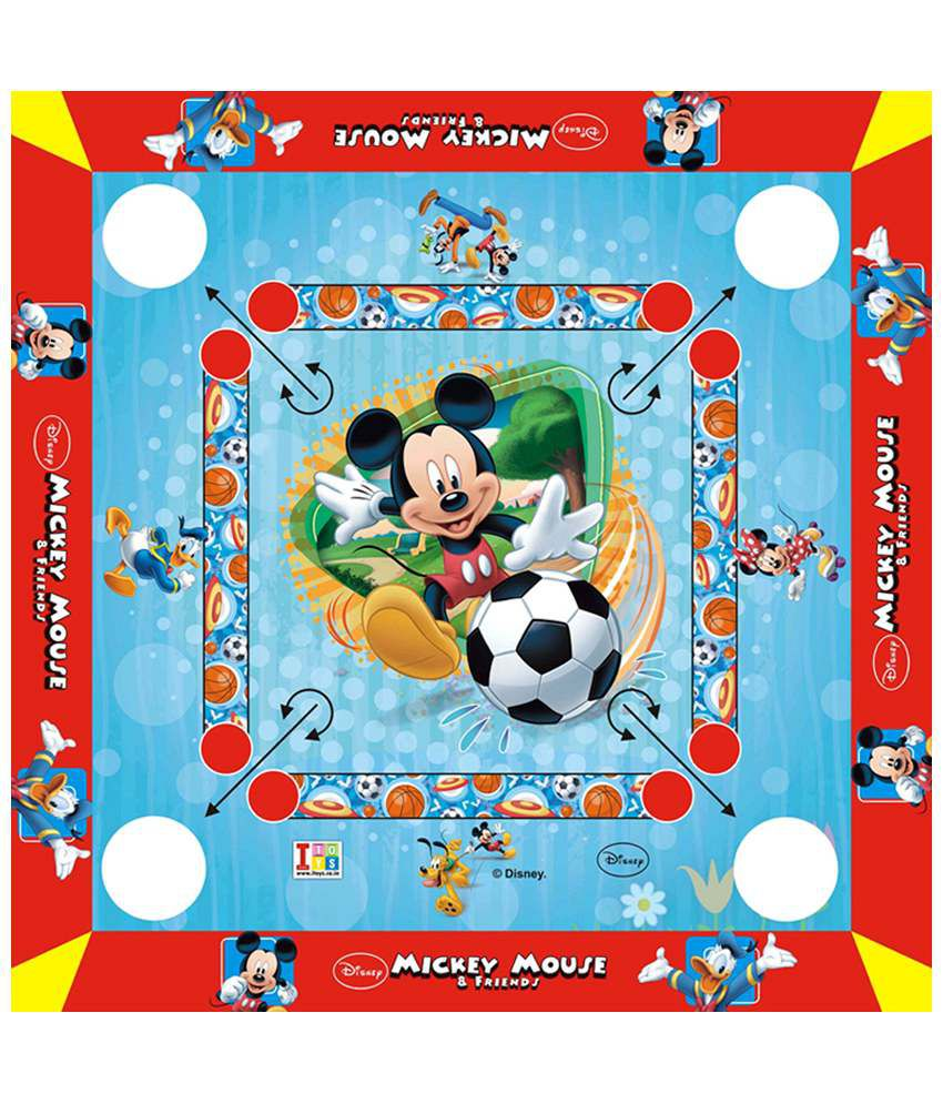 Disney Mickey Mouse Carrom Board - Small