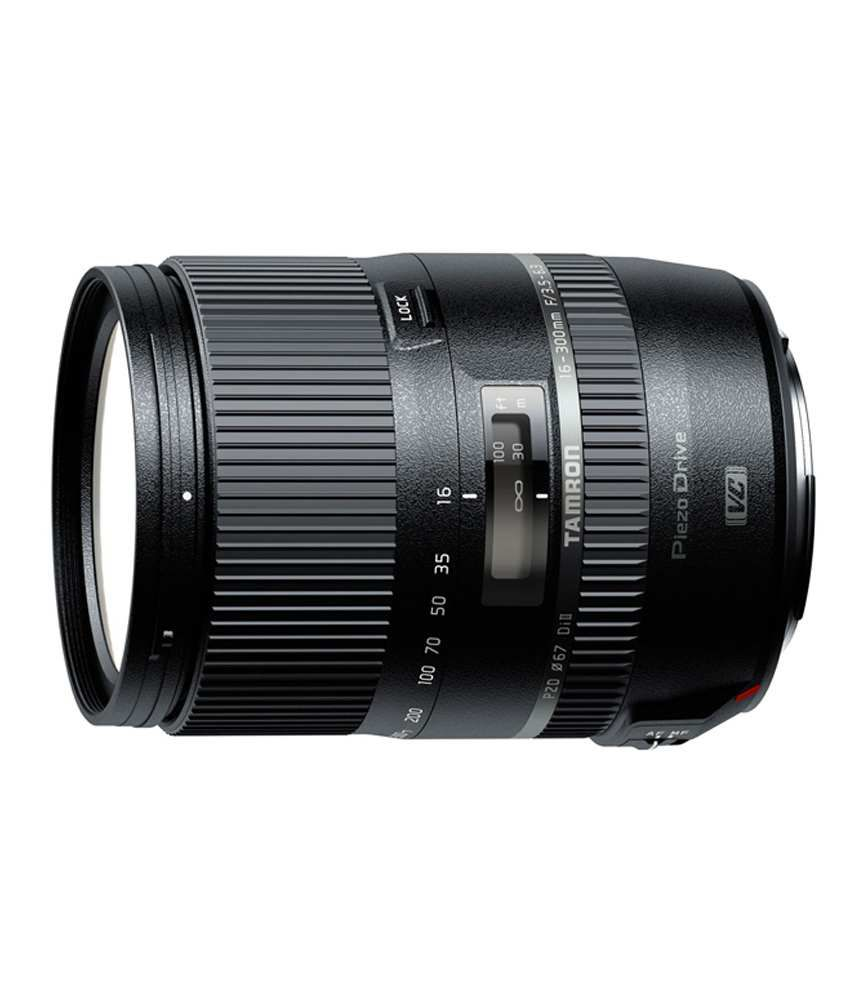 Tamron Zoom Tamron 16-300mm F3.5-6.3 Di Ii Vc Pzd Macro For Nikon Mount Nikon Dx Lens
