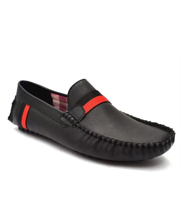 Zoot24 Black Loafers