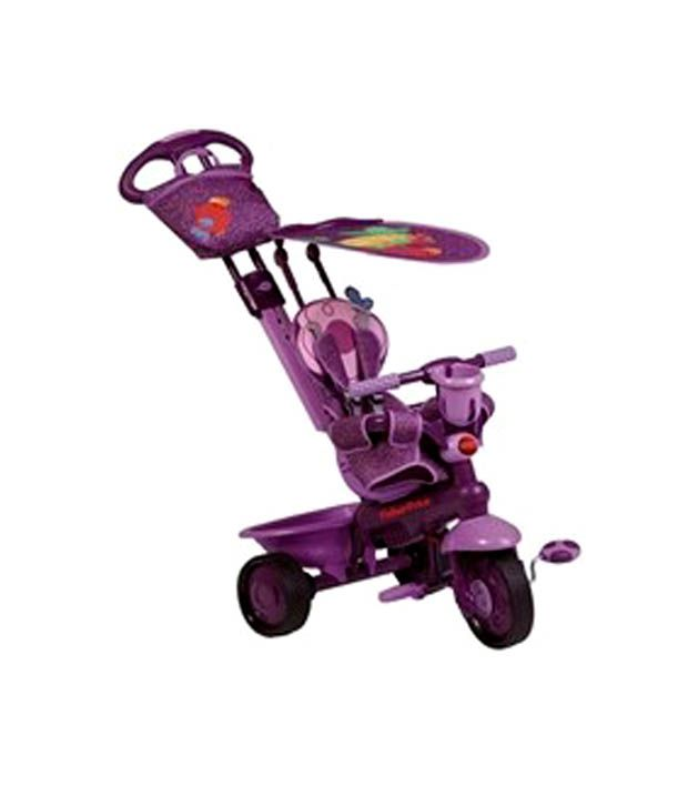 Fisher price smart trike 3 in 1 royal purple buy fisher for Silla 3 en 1 fisher price