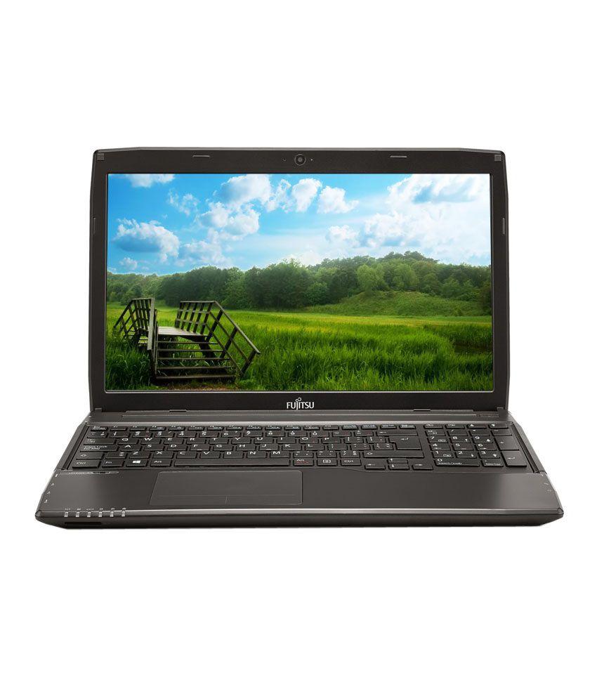 Fujitsu LifeBook A544 Notebook (4th Gen Intel Core i3- 4GB RAM- 500GB HDD- 39.62cm (15.6)- DOS) (Black)