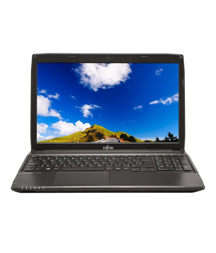 Fujitsu LifeBook A544 Notebook (4th Gen Intel Core i5- 4GB RAM- 500GB HDD- 39.62cm (15.6)- DOS) (Black) (Free Laptop Bag)