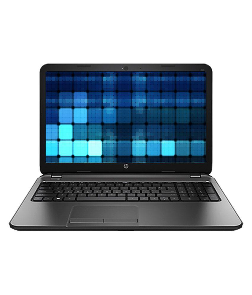 HP 250 (E8D87PA) Laptop (3rd Gen Intel Core i3-3110M- 4GB- 500GB HDD- 39.62cm (15.6) Screen- DOS) (Black)