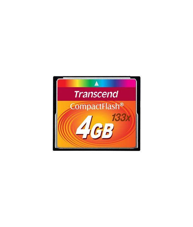 Transcend Compact Flash 4 Gb