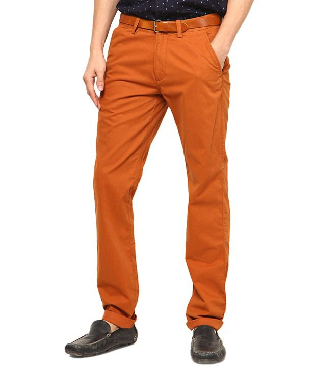 Phoenix Orange Regular Semi Formals