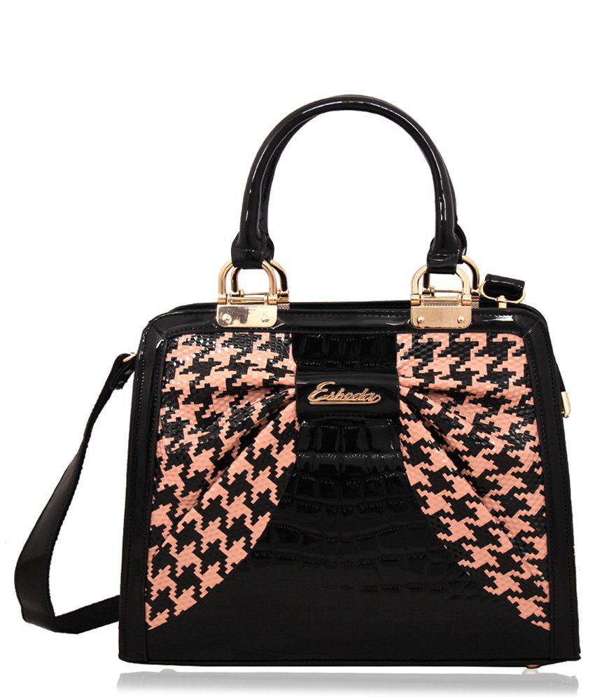 f4c8b6dc5b Esbeda ESB6109PINK Black Shoulder Bags - Buy Esbeda ESB6109PINK Black  Shoulder Bags Online at Best Prices in India on Snapdeal