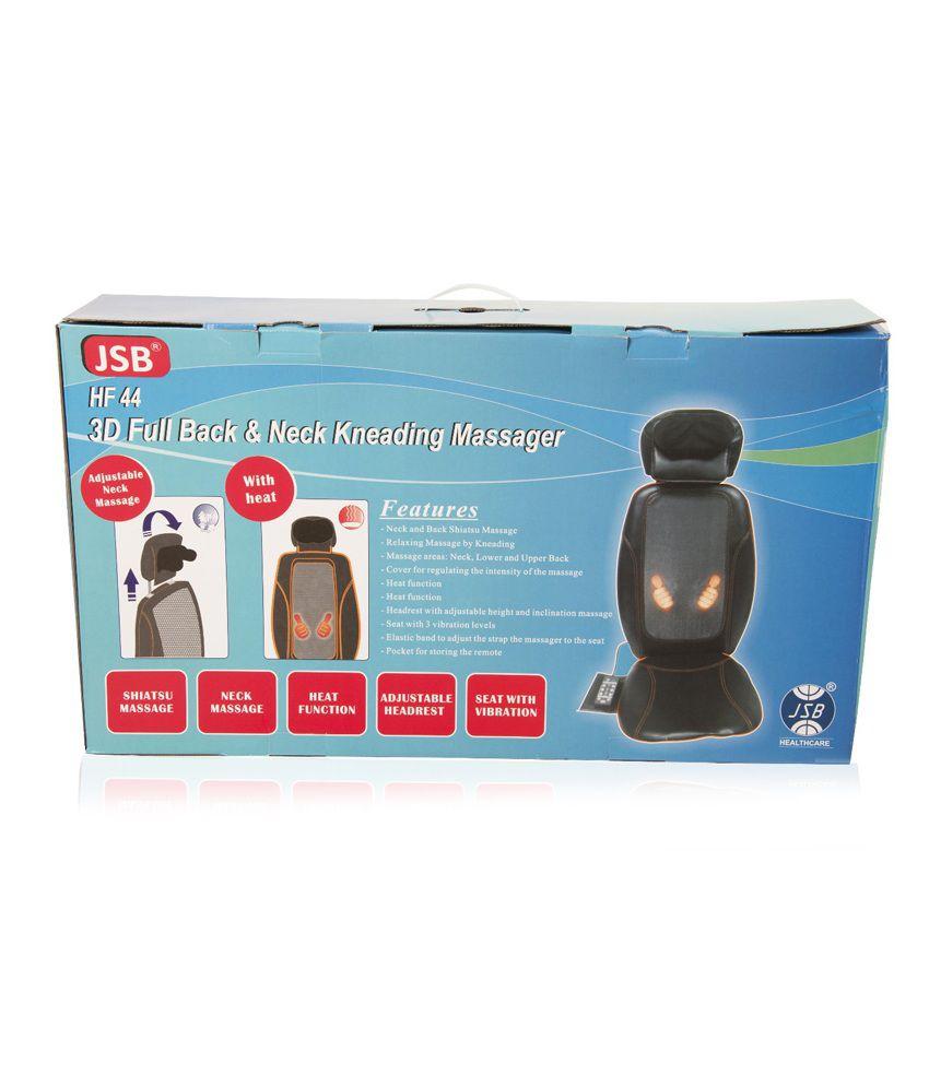 JSB HF44 3D Full Back and Neck Kneading Massager