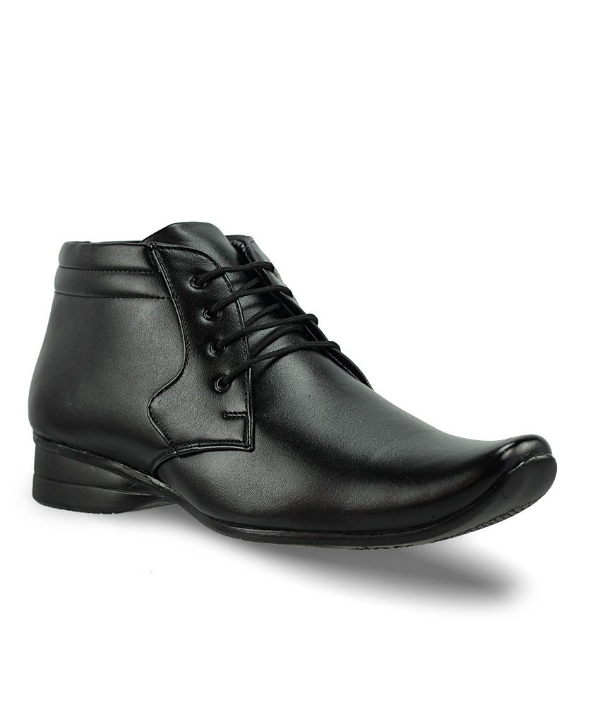 Black Office Shoes India