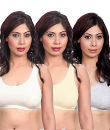 Ladies M /& S MATERNITY NURSING BRA NON WIRED 34 DD  2 PACK COLORED A3S