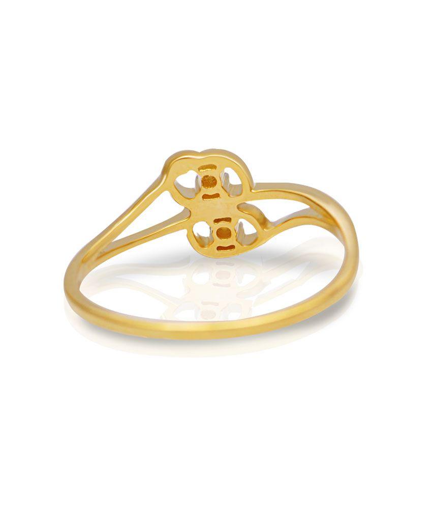 Jacknjewel Two Stoned Circle Ring