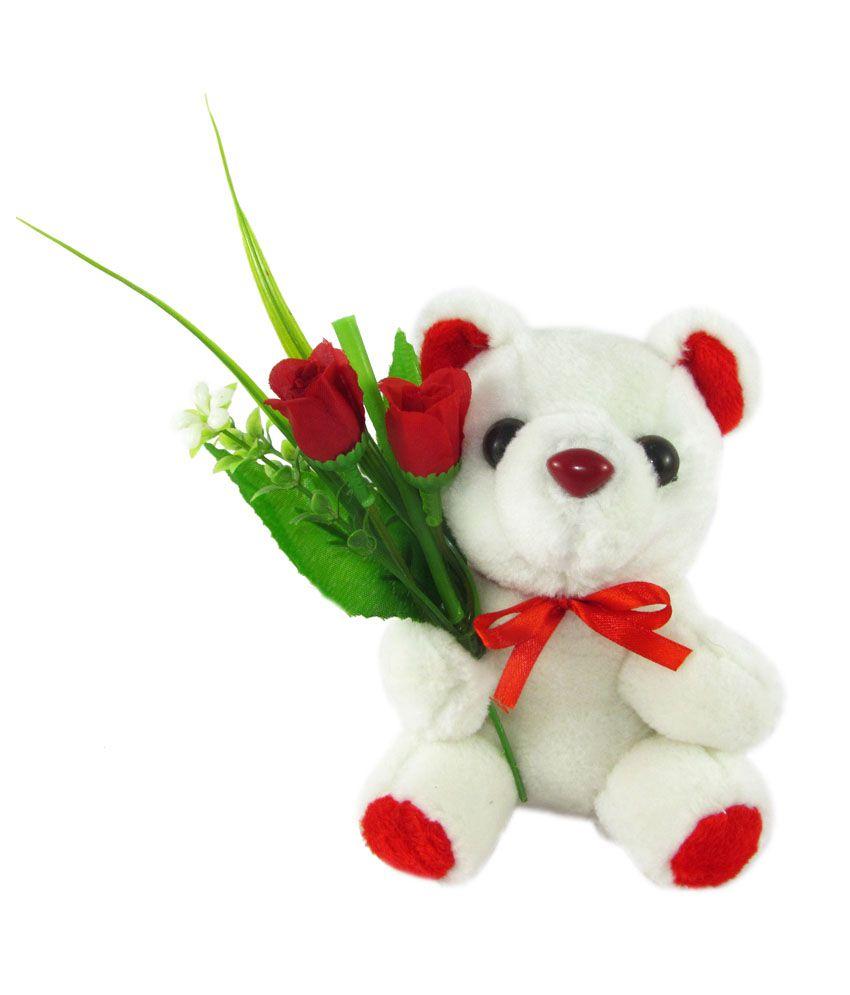 Tickles Bouquet Teddy bear stuffed love soft toy for boyfriend, girlfriend L: 15 cm
