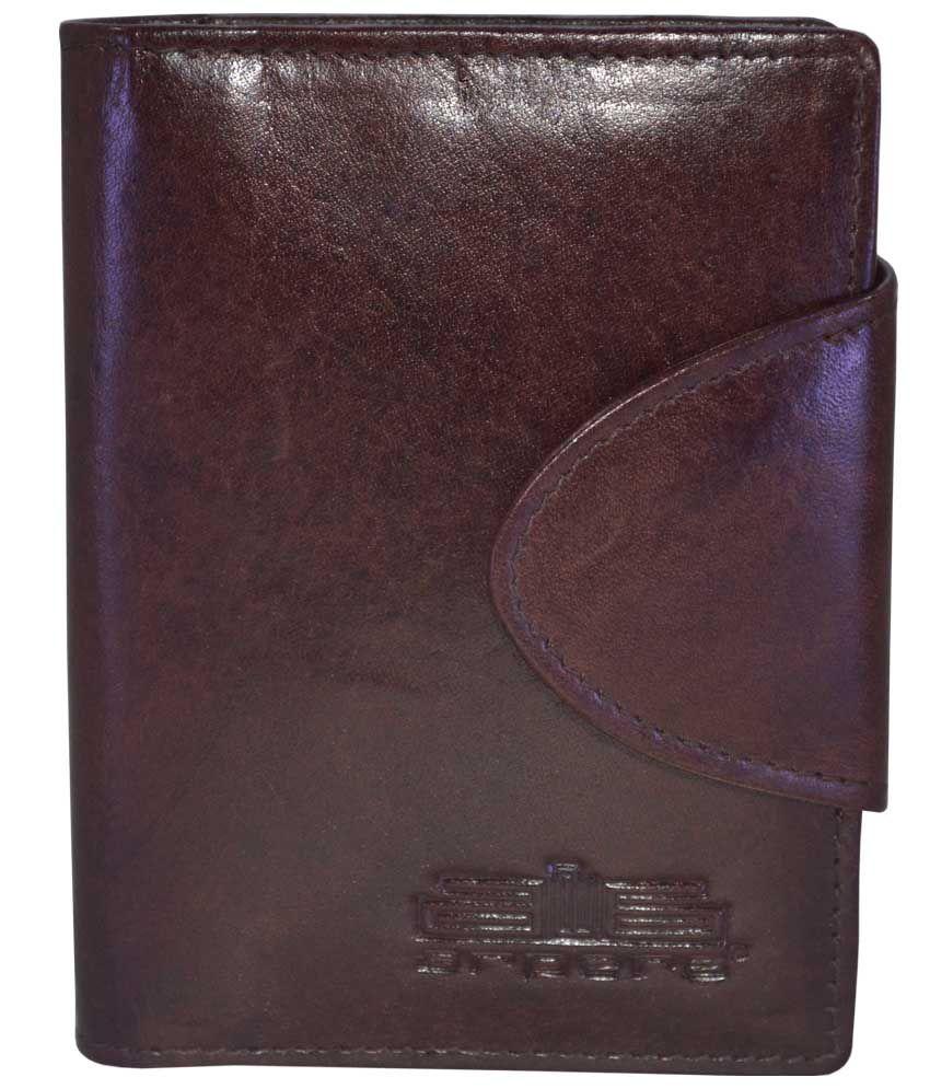Arpera Genuine Leather Brown Card Holder
