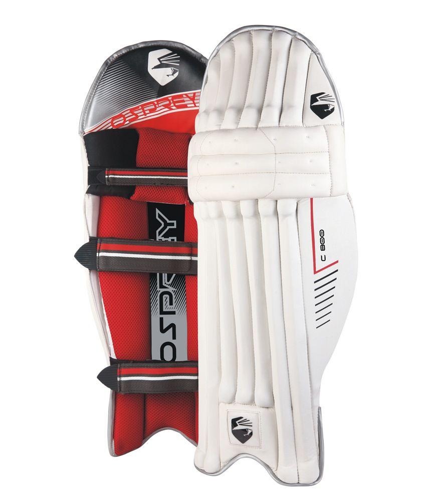 Osprey mens leather gloves - Osprey C 800 Cricket Batting Pad Mens