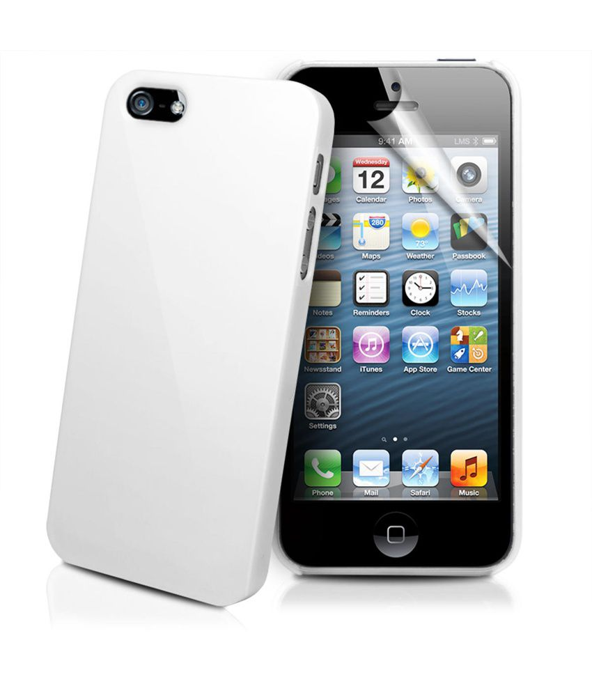 buy used iphone 5s apple iphone 5 5s printed back covers by wow white buy 13713