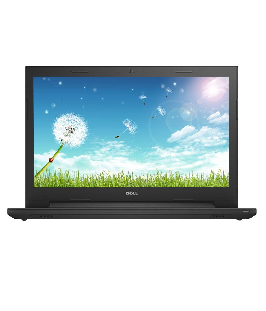 Dell Inspiron 15 3541 Laptop (AMD E1 6010 APU- 4GB RAM- 500GB HDD- 39.62cm (15.6) Screen- Win 8.1 SL with Bing-AMD ) (Black)