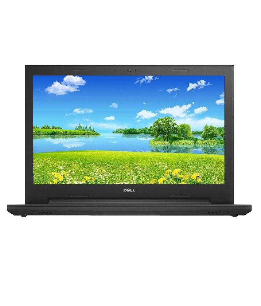 Dell Inspiron 15 3541 Laptop (APU Quad Core A6- 4GB RAM- 500GB HDD- 39.62cm (15.6) Screen- Ubuntu- 2GB Graphics) (Black) (DLNI0059)