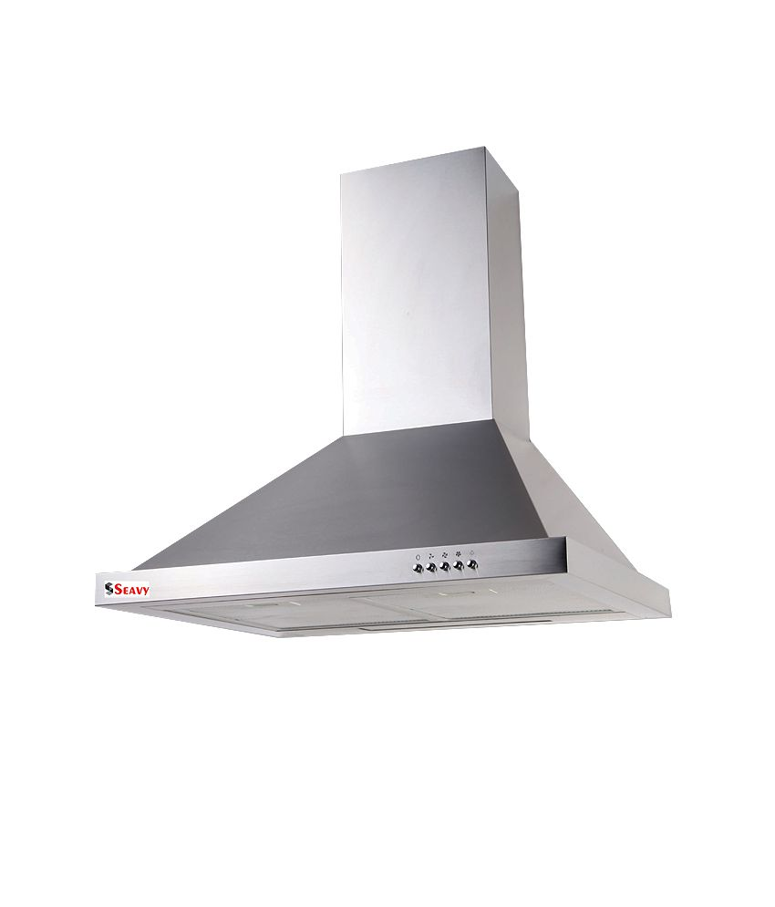 Seavy Earth 60 Cf 1100M3/Hr Electric Kitchen Chimney Price