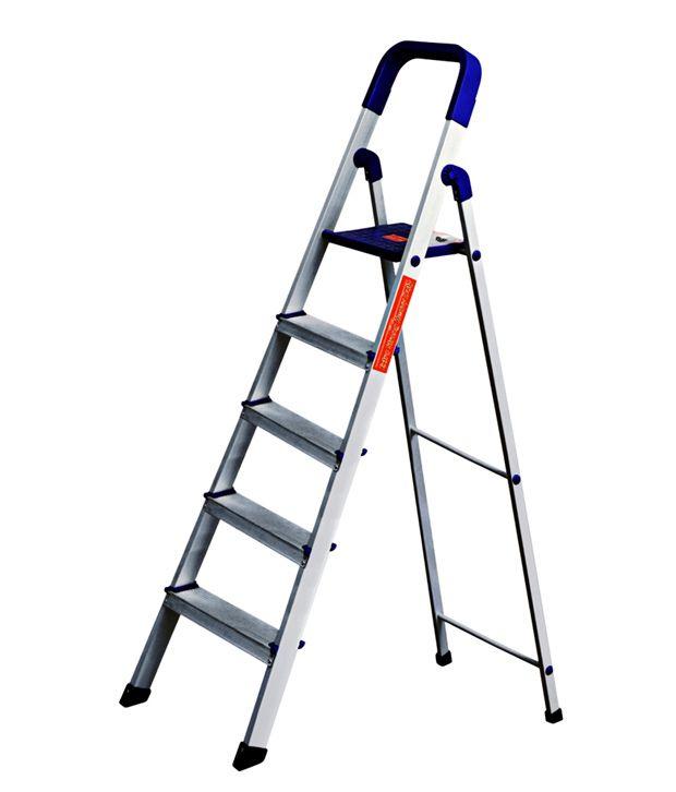 Cipla Plast Silver Aluminium Ladders Buy Cipla Plast