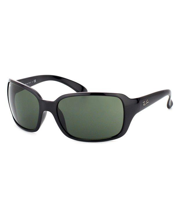 Ray-Ban Green Rectangle Sunglasses RB4068 601