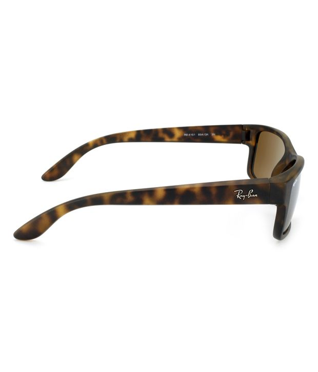 56b925310d6 Ray-Ban RB-4151-894-3K-Size 59 Rectangle Sunglasses - Buy Ray-Ban RB ...