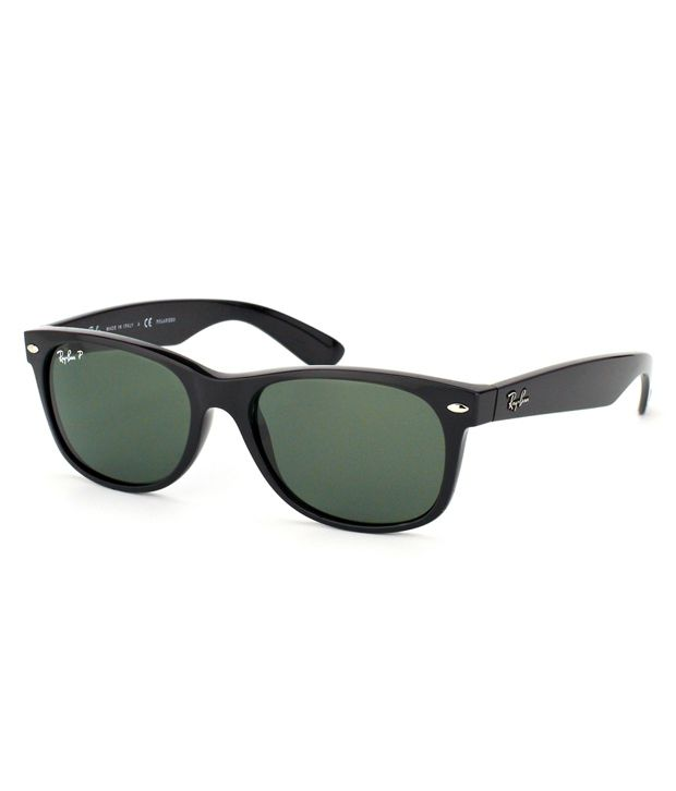 Ray-Ban Green Polarized Wayfarer Sunglasses (RB2132 901/58 52-18) ...
