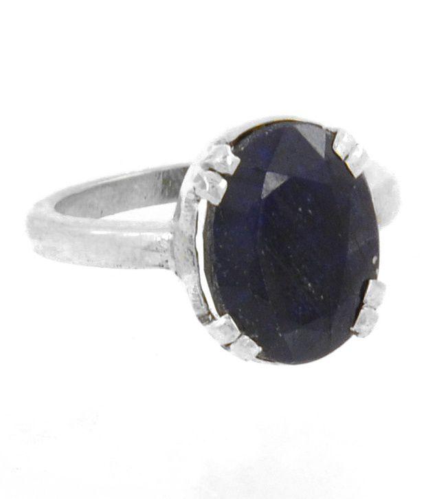 Barish Gems 5.25 Ratti Blue Sapphire Astrology Ring Benefits