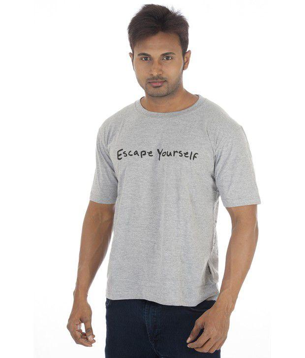 TSG Escape Gray Cotton  T-Shirt