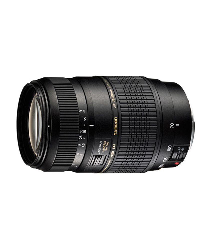Tamron Zoom Tamron A17 AF 70-300 mm Canon EF LensTamron Lens + 62MM UV Filter